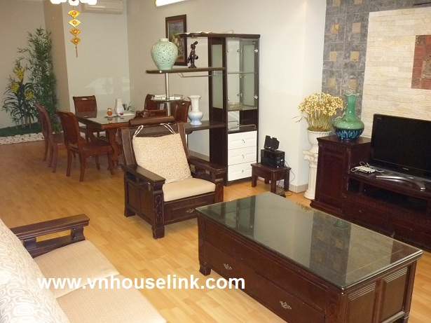 Apartment for rent in Ciputra, Tay Ho, Ha Noi.